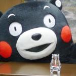 バカラ社製のクリスタルの「くまモン」