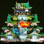 大阪城、たくさんの花に彩られて百花繚乱?