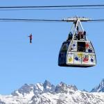 地上380メートル、絶景も目に入らず?