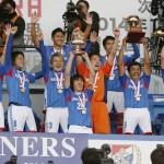 天皇杯サッカー、横浜Mが21大会ぶり優勝