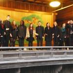 ニューヨーク大学合唱団がコーラスを奉納