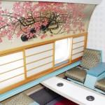 前田青邨の紅白の梅の絵、半世紀前の豪華な一等席