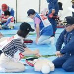 東京都と杉並区が首都直下地震想定で防災訓練
