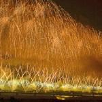 信濃川河川敷で「長岡まつり大花火大会」