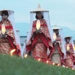 熊野本宮大社「大斎原」で厳かな八咫の火祭り
