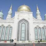 モスクワに巨大なモスクが再建