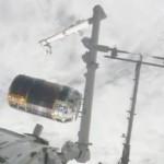 日本の無人補給機「こうのとり」5号機が分離