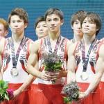 世界体操、日本男子が団体で37年ぶりの金